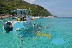Tour to the island of Racha Yai