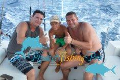 Очередная рыбалка троллингом у островов Рача