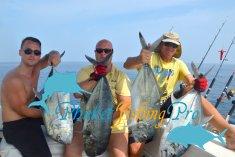 Фотографии с последней недели рыбалки недалеко от Пхукета